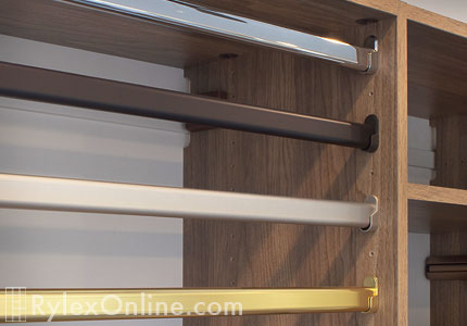 Closet Garment Rods  Cabinet Rods  Orange County Warwick NY