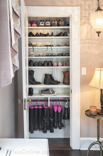 Shallow Shoe Closet  New Windsor NY  Rylex Custom