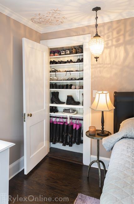 Shallow Shoe Closet  New Windsor NY  Rylex Custom