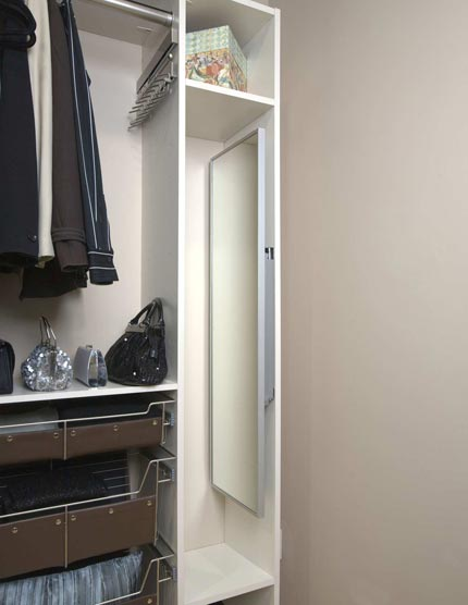 kitchen sliding baskets sears sinks closet mirror | orange county, ny rylex custom ...