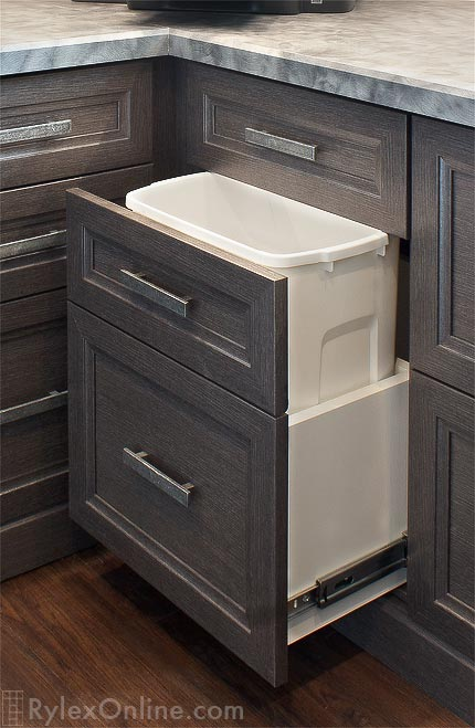 Trash Pull Out Cabinet Orange County NY Rylex Custom