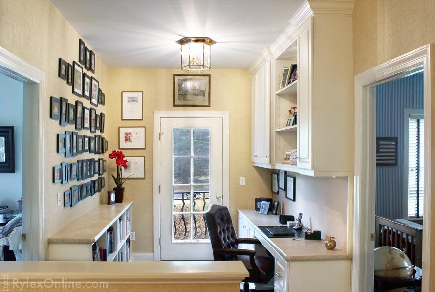Second Floor Landing Home Office  Goshen  Rylex Custom