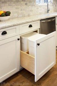 Kitchen Cabinet Trash Drawer | Shapeyourminds.com