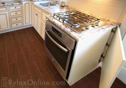 white kitchen trash can resurfacing cabinets innovative | orange county, ny