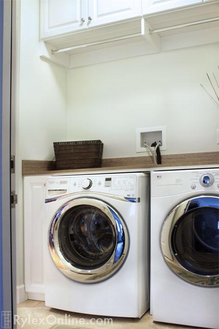 Compact Laundry Storage  Slim Cabinet  Marlboro NY