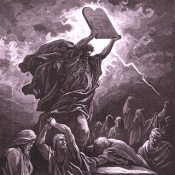 Deuteronomio, la Sacra Bibbia