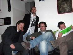 Alberto, Andrea, Luigi e Davide