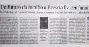"""""""Un futuro da incubo"""", Pelicula sul Corriere della Sera"""