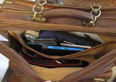 Nella mia borsa: tasca principale
