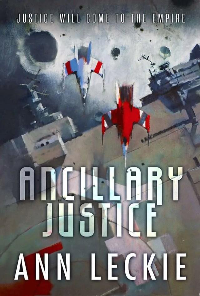 La copertina di Ancillary Justice, di Ann Leckie