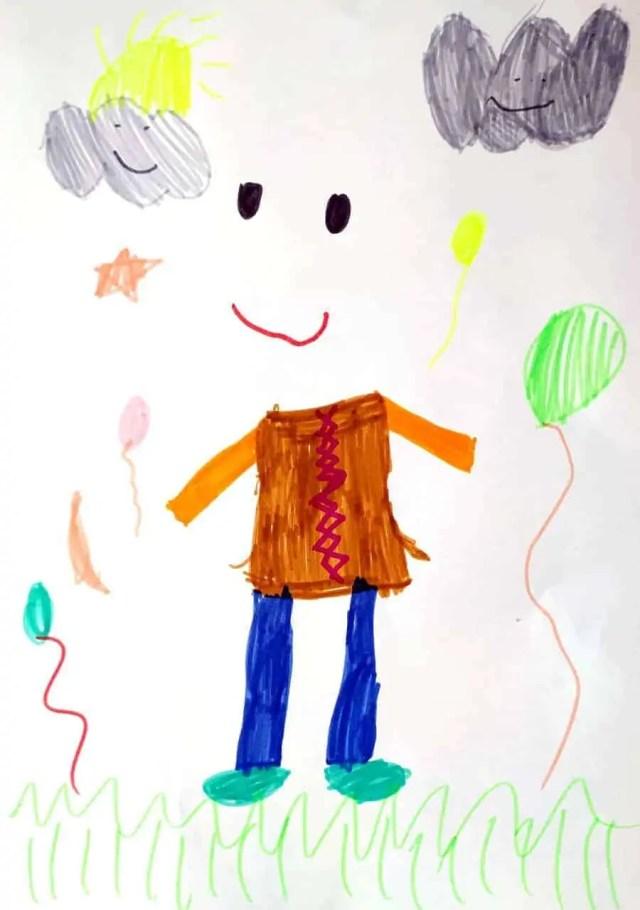 L'uomo Invisibile disegnato da Tati