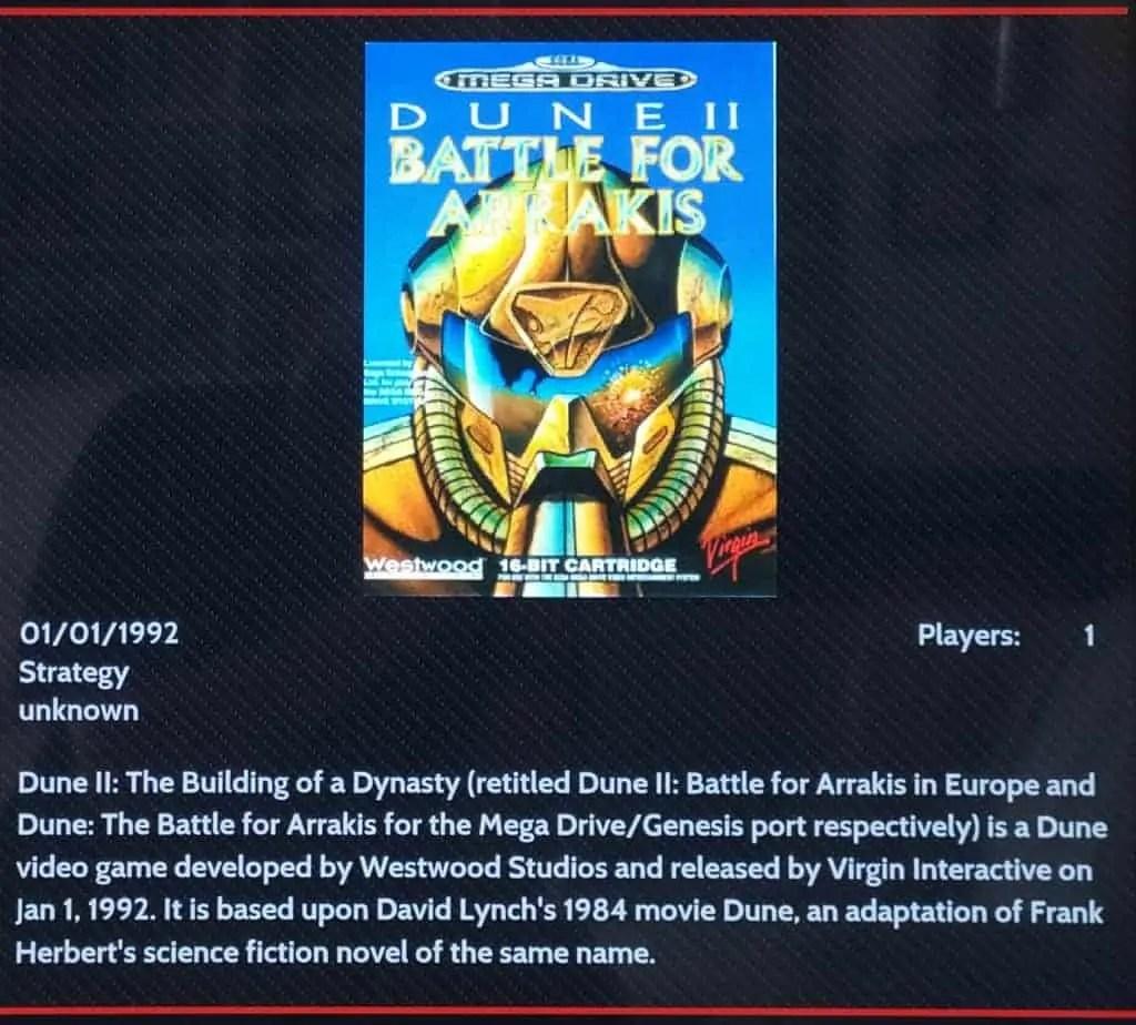 Introduzione a Dune II