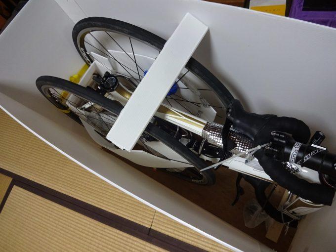オリジナルの輪行箱を作成しました。