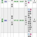 台湾旅行での輪行移動と鉄道時刻の調べ方