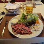 スイス ロードバイクとハイキングの一人旅での食事その3
