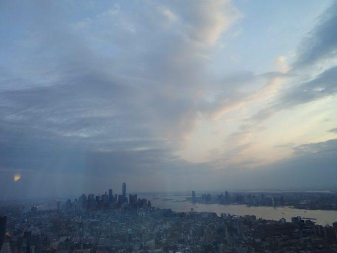 エンパイヤステートビルからの眺め