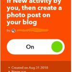 IFTTTイフトでstravaからブログ投稿を試してみた