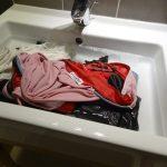 自転車ツーリング中の洗濯について