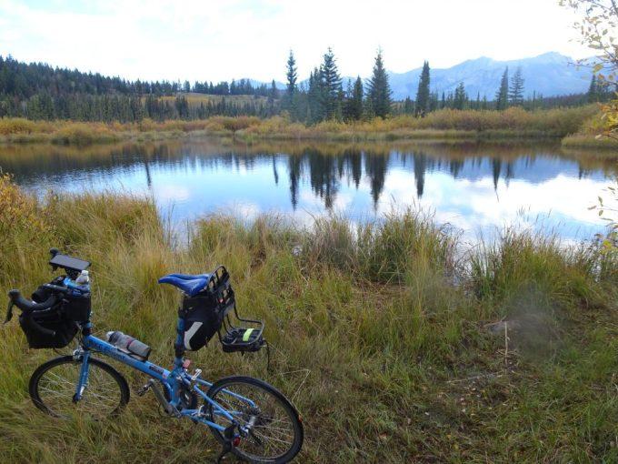 BikeFriday とCottonwood Slough