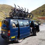 ラパス近郊、ユンガスの道をマウンテンバイクで下るデスロードツアー 南米旅 7日目