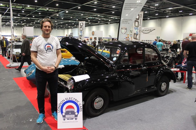 Circularity Champion: London Electric Cars – upcycling classic cars into electric vehicles