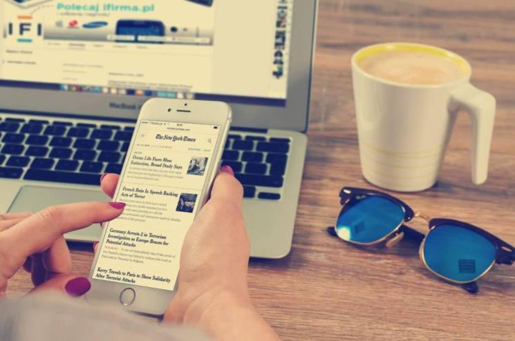 Corrispondente delle migliori notizie online di idee imprenditoriali