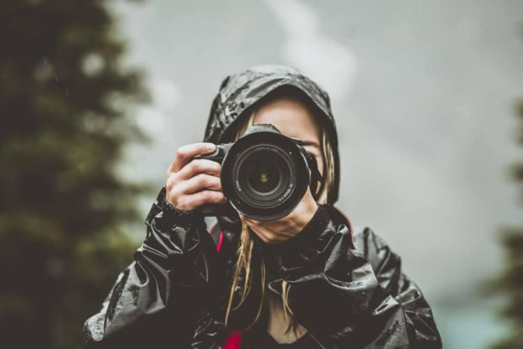 Miglior fotografo freelance del ritratto di idee di affari