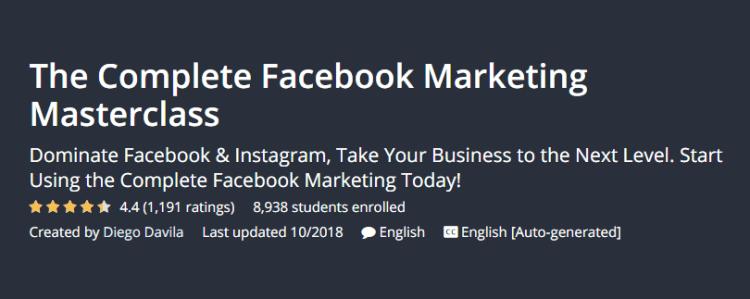 I migliori corsi di blogging per i blogger principianti La lezione di marketing completa su Facebook