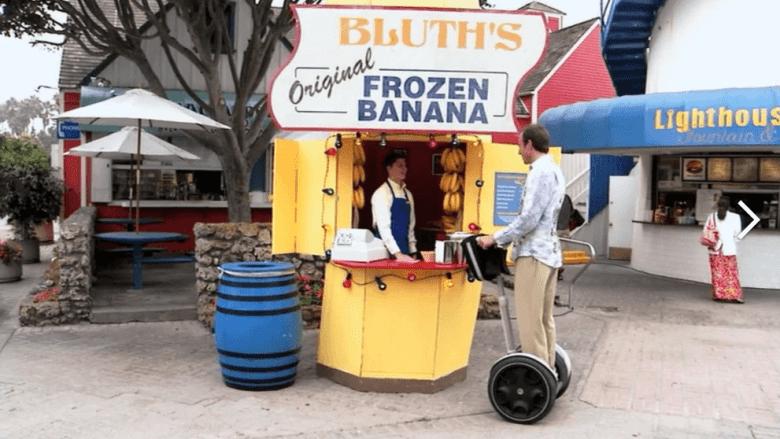 Email marketing per i blogger Soldi nello stand di banane