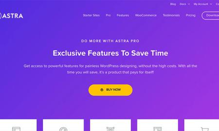 Astra WordPress Theme for Bloggers to Install