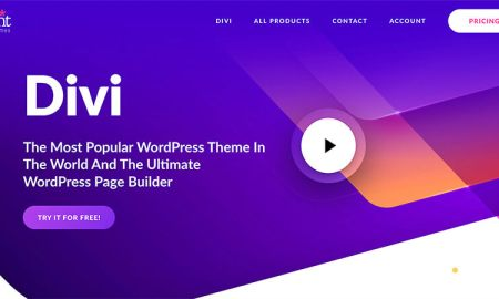 Divi by Elegant Themes as Best WordPress Themes Contentor for Bloggers