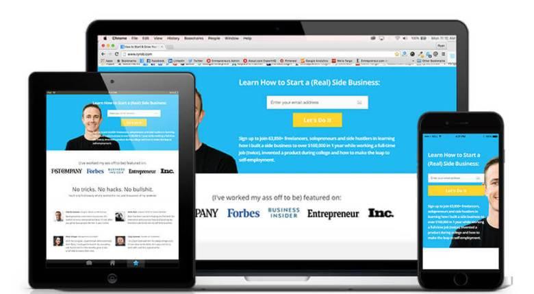Tema WordPress OptimizePress per blogger seri