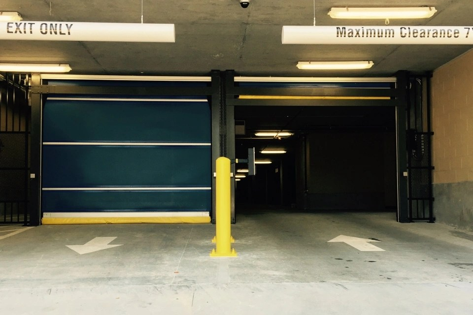 Apartment Garage Doors  Underground Parking Garage Doors