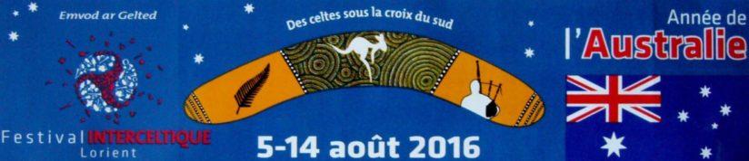 Festival Interceltique de Lorient 2016 (1) - Année de l'Australie