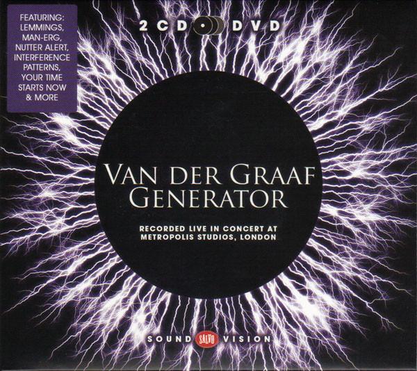 VAN DER GRAAF GENERATOR - Recorded Live in Concert at Metropolis Studios, London
