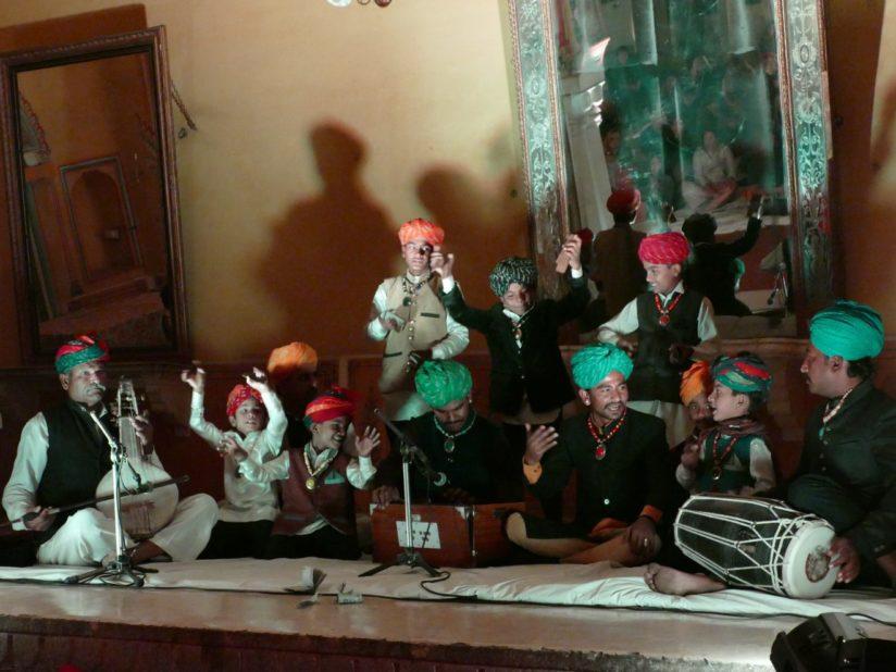 JAISALMER BOYS à Jaipur (Rajasthan, Inde), 5 février 2018
