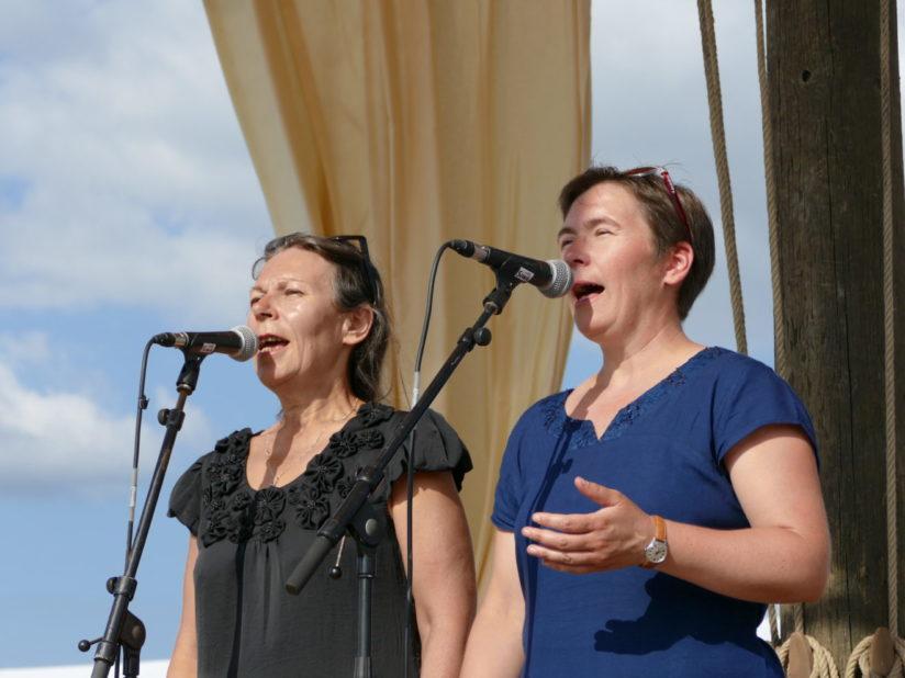 Le Chant des Sardinières au Festival Temps Fête de Douarnenez, juillet 2018