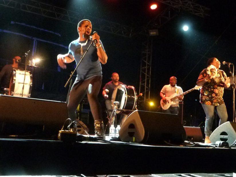 BCUC au Festival Temps Fête de Douarnenez, juillet 2018