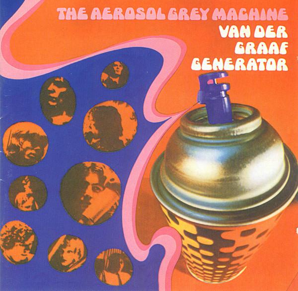 VAN DER GRAAF GENERATOR : la bombe aérosol grise pulvérise encore!