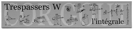 Marque-page réalisé par Cripure, dessins : Ronnie Krepel, disponible.