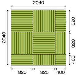 琉球畳 敷き方