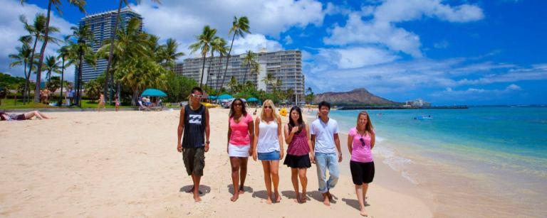 ハワイ留学生