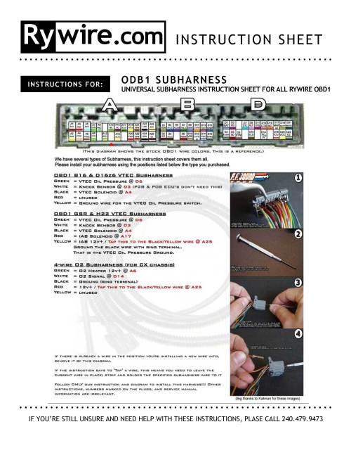 small resolution of obd1 vtec wiring wiring diagram hub obd1 wiring harness obd1 obd2 vtec subharness p28 ecu