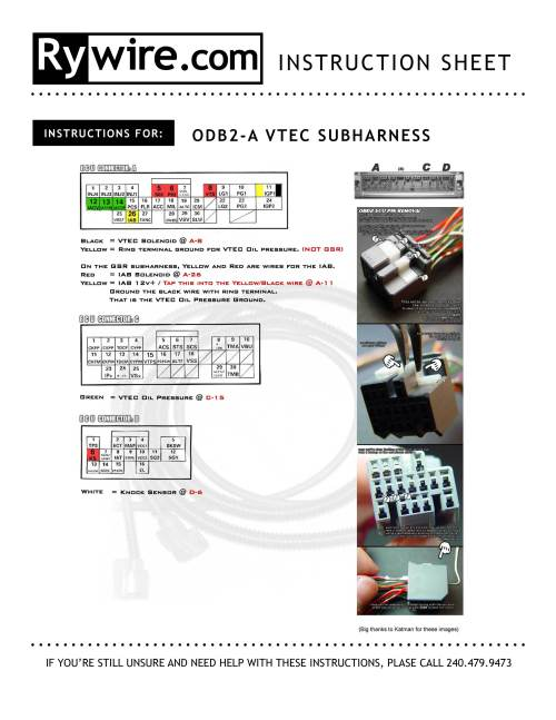 small resolution of obd2 to obd1 vtec wiring wiring diagram val obd1 vtec wiring diagram