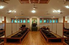 Meditation Hall at Chapin Mill Retreat Center