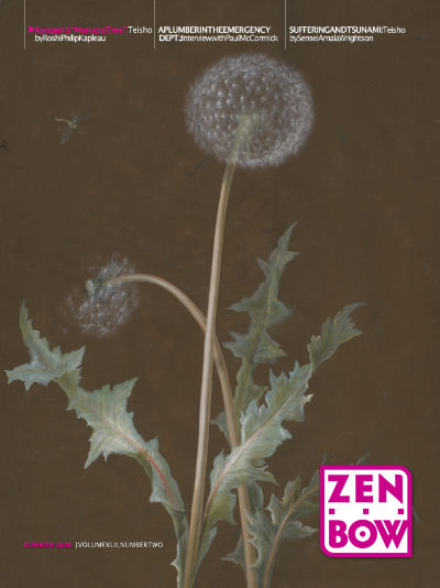 Cover of Zen Bow Summer 2020 print issue