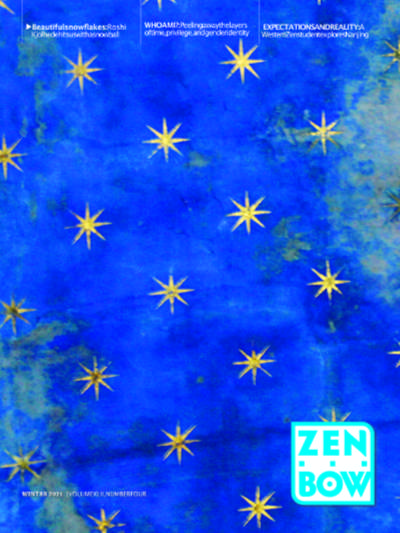 Cover of Winter 2021 issue of Zen Bow