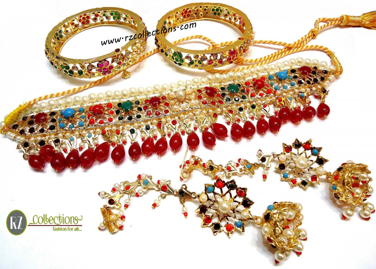 RZ TRADITIONAL NECKLACE SET 0117 RZ Collections