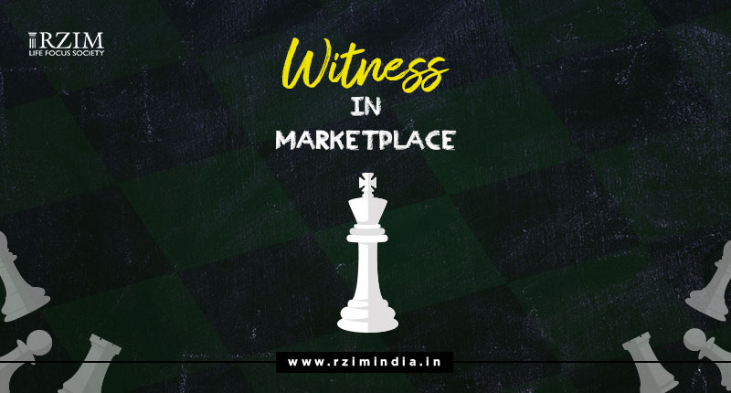 Witness in Marketplace