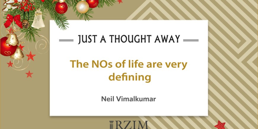 The NOs of life are very defining